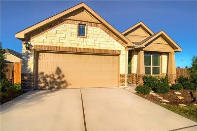 Leander Single Family Home For Sale: 1301 Camino Ct