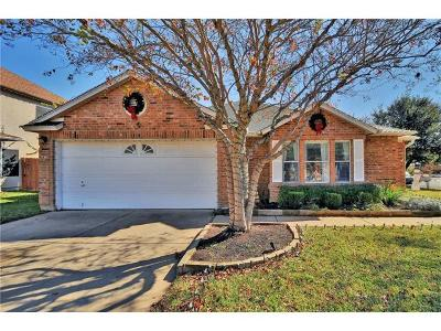 Cedar Park Single Family Home Pending - Taking Backups: 1710 Chinati Ct