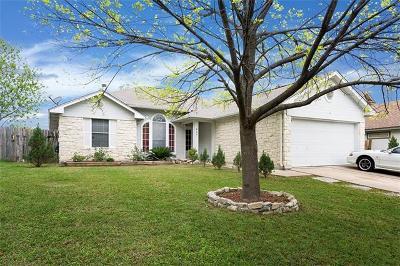 Georgetown Single Family Home Pending - Taking Backups: 807 Jasmine Trl