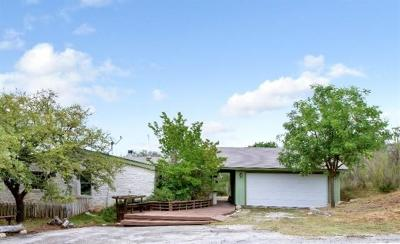 Dripping Springs Single Family Home For Sale: 550 Hillview Dr