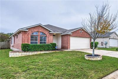 Round Rock Single Family Home For Sale: 3205 Clinton Pl