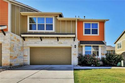 Round Rock Condo/Townhouse For Sale: 1620 Bryant Dr #1706
