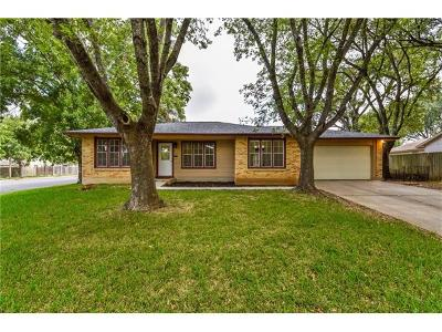 Austin Single Family Home For Sale: 1404 Cattle Trl