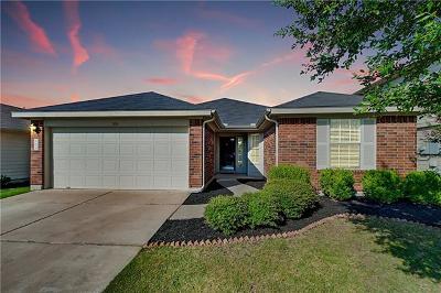 Georgetown Single Family Home Pending - Taking Backups: 309 Old Peak Rd