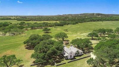 Burnet County, Lampasas County, Bell County, Williamson County, llano, Blanco County, Mills County, Hamilton County, San Saba County, Coryell County Farm For Sale: 3988 Rocky Rd