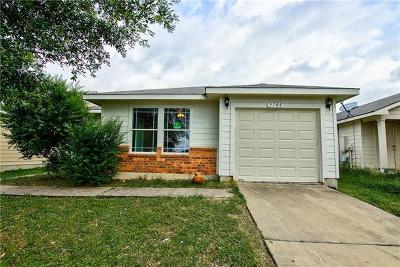 Del Valle Single Family Home For Sale: 5708 Angel Dr