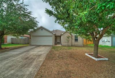 Hutto Single Family Home For Sale: 404 Stewart Dr