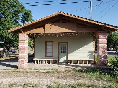 Single Family Home For Sale: 111 W Avenue H