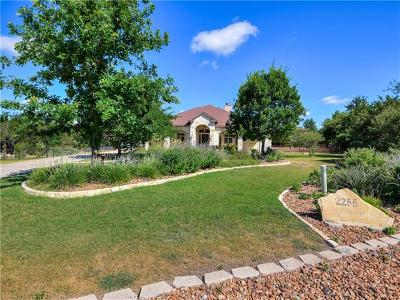 New Braunfels Single Family Home For Sale: 2255 Texas Spgs