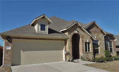 Hutto Single Family Home For Sale: 137 Lismore