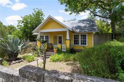 Austin Single Family Home Pending - Taking Backups: 305 E Live Oak St