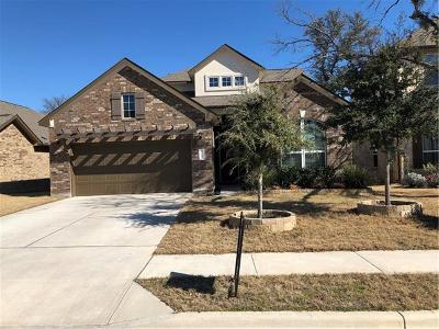 Cedar Park Single Family Home For Sale: 617 Spanish Mustang Dr