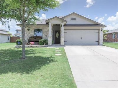 Hutto Single Family Home For Sale: 103 Jasmine Way