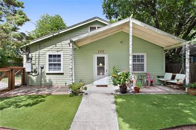 Austin Single Family Home For Sale: 502 Tillery St