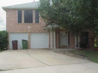 Round Rock Rental For Rent: 3408 Kelsey Cv