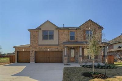 Round Rock Single Family Home For Sale: 505 Kolbo Dr