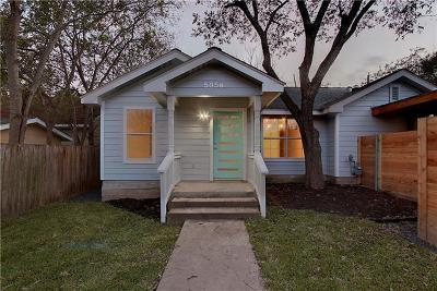 Travis County Single Family Home For Sale: 505 E 54th St #B