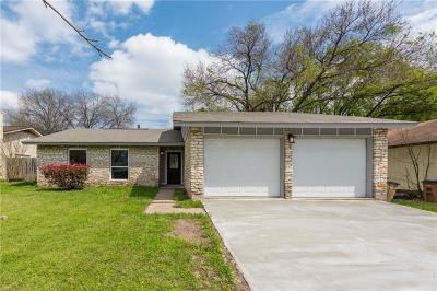 Austin TX Single Family Home For Sale: $349,900