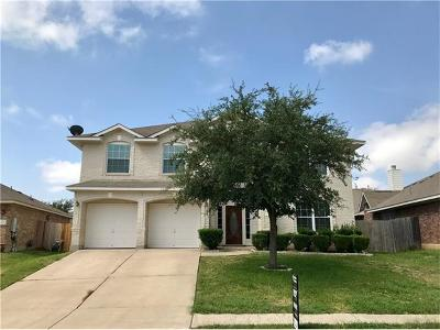 Round Rock Single Family Home For Sale: 3928 Bonnie Ln