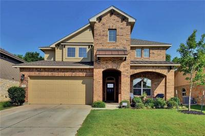 Round Rock Single Family Home For Sale: 738 Palo Duro Loop