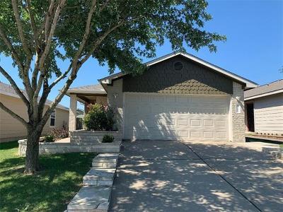 Del Valle Single Family Home Pending - Taking Backups: 12401 Laguardia Ln