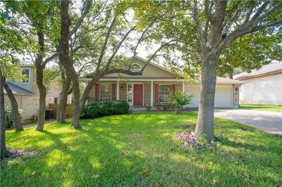 Cedar Park TX Single Family Home For Sale: $269,900