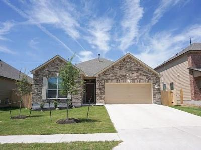 Round Rock Single Family Home For Sale: 6248 Mantalcino Dr