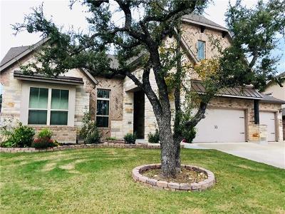 Leander Single Family Home For Sale: 2325 Blended Tree Ranch Dr