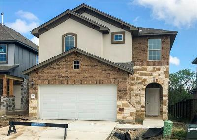 Round Rock TX Single Family Home For Sale: $258,990