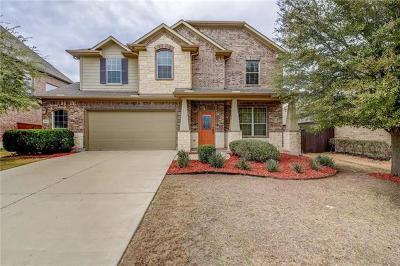 Round Rock Single Family Home For Sale: 100 Aspen Trl