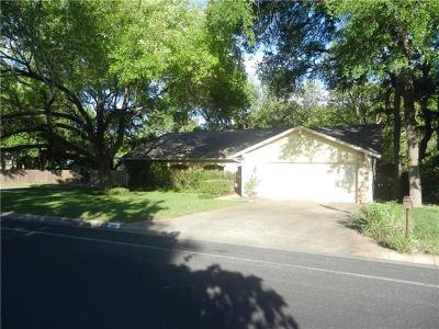 Austin Single Family Home Pending - Taking Backups: 11411 Santa Cruz Dr
