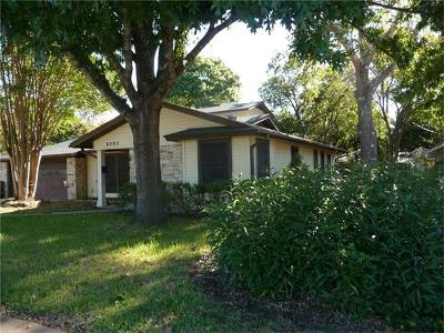 Austin Single Family Home Pending - Taking Backups: 6203 Treadwell Blvd