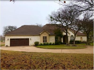 Georgetown Single Family Home Active Contingent: 109 Oak Breeze Cv