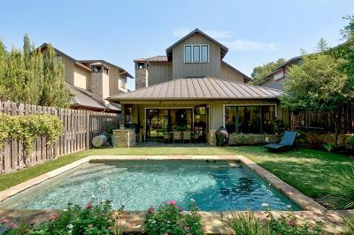 Austin Single Family Home For Sale: 3303 Bonnie Rd