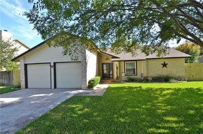 Round Rock Single Family Home Pending - Taking Backups: 2407 W Messick Loop