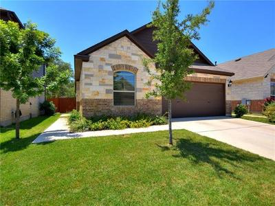 Round Rock Single Family Home Pending - Taking Backups: 3451 Mayfield Ranch Blvd #307