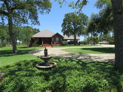 Giddings Single Family Home For Sale: 1329 County Road 221