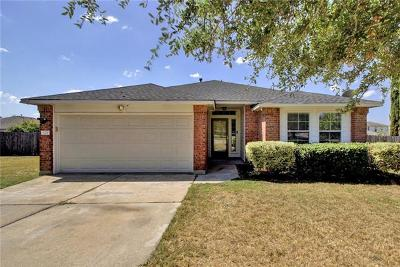 Pflugerville Single Family Home For Sale: 609 Tudor House Rd