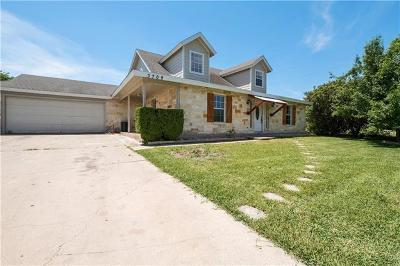 Pflugerville Single Family Home For Sale: 3709 Willow Vista Dr