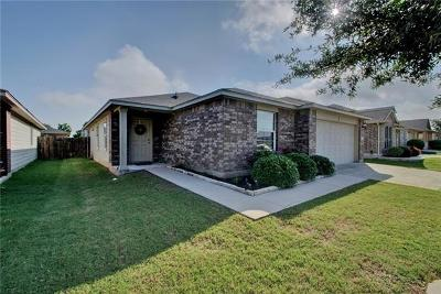 Manor Single Family Home For Sale: 13232 Ring Dr