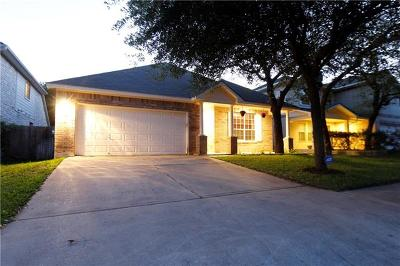 Round Rock Single Family Home For Sale: 421 Valona Loop