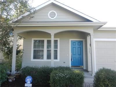 Manor Single Family Home For Sale: 11816 Bastrop St