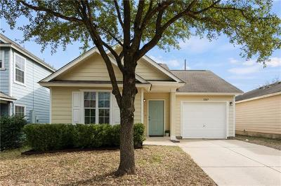 Hays County, Travis County, Williamson County Single Family Home For Sale: 7207 Alegre Pass