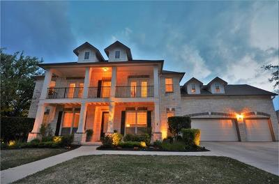 Cedar Park Single Family Home For Sale: 2708 Brindisi Way