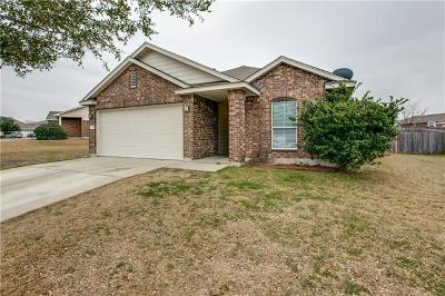 Pflugerville Single Family Home Pending - Taking Backups: 800 Sweet Leaf Ln