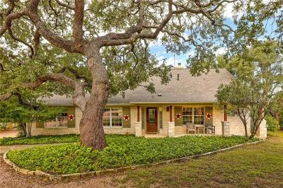 Dripping Springs TX Single Family Home For Sale: $795,000