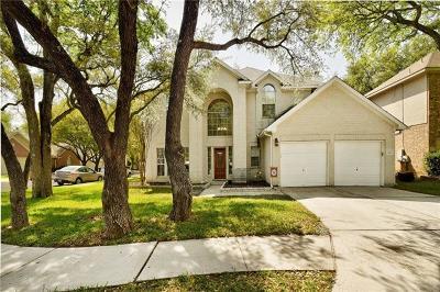 Round Rock Single Family Home Pending - Taking Backups: 8101 Longdraw Dr