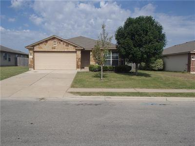Hutto Single Family Home For Sale: 404 Creston St