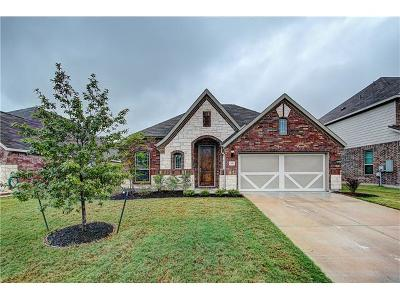 Hutto Single Family Home For Sale: 705 North Emory Cv