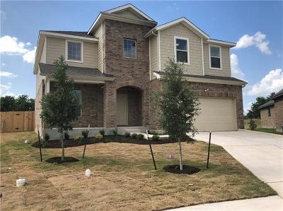 Round Rock Single Family Home For Sale: 5920 Bucine Cv